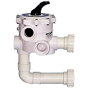 "Sta-Rite 2"" ABS Multiport Valve for System 3: Mod DE Filters"