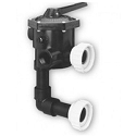 Sta-Rite 1.5'' ABS Multiport Valve w/ Piping