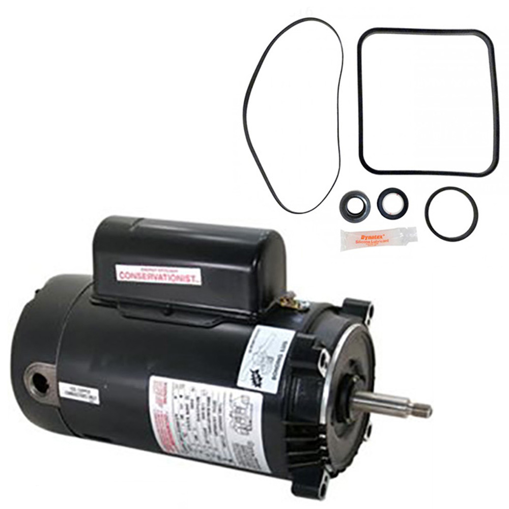 Hayward super pump 2 5 hp sp2621x25 replacement motor kit for Hayward super pump 1 5 hp motor