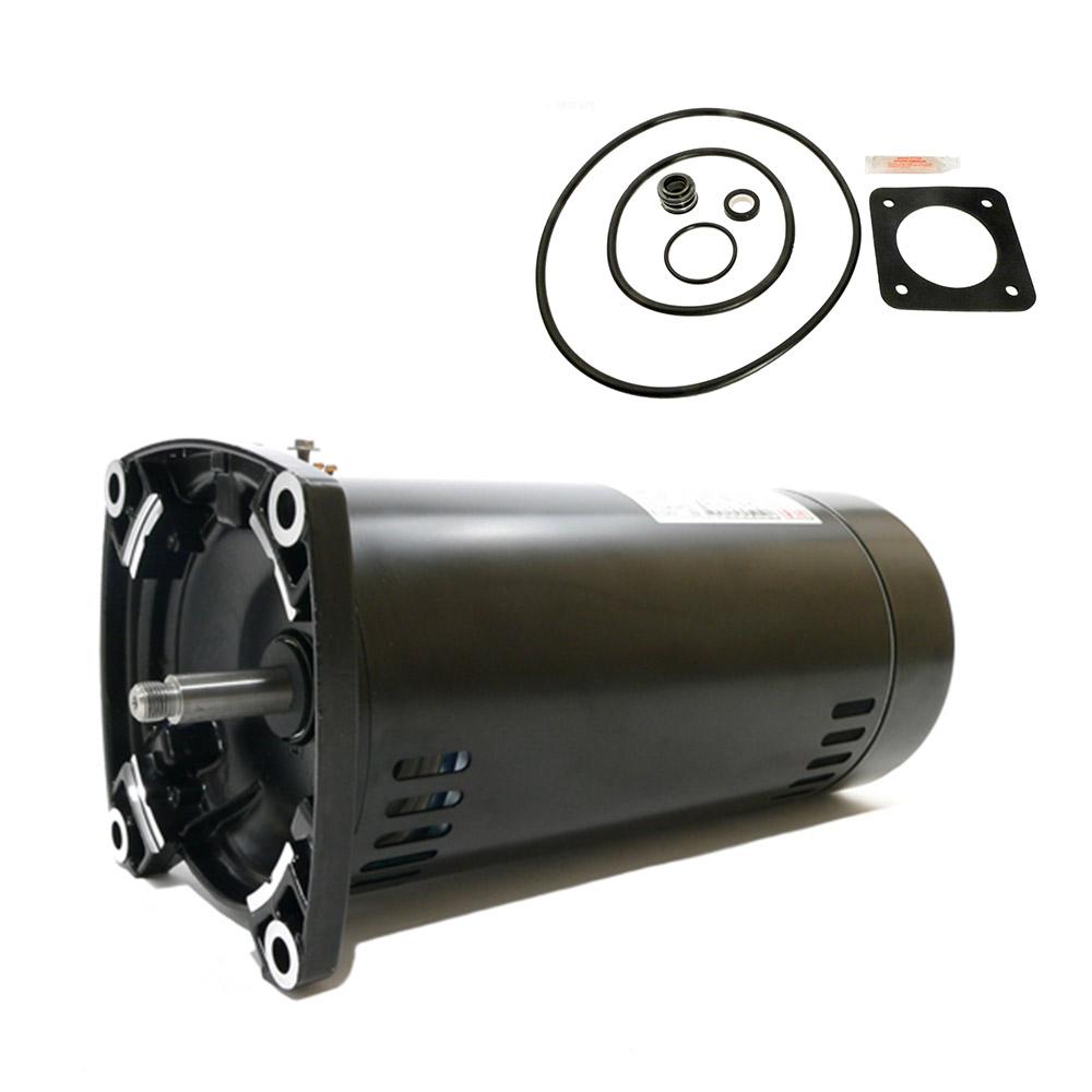 Sta rite dura glas 1 5hp p2ra5f 182l replacement motor kit for Sta rite pump motor