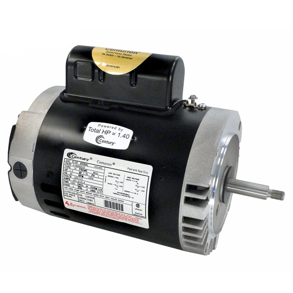 A o smith century b127 75hp 115 230v full rated for Motor for pool pump