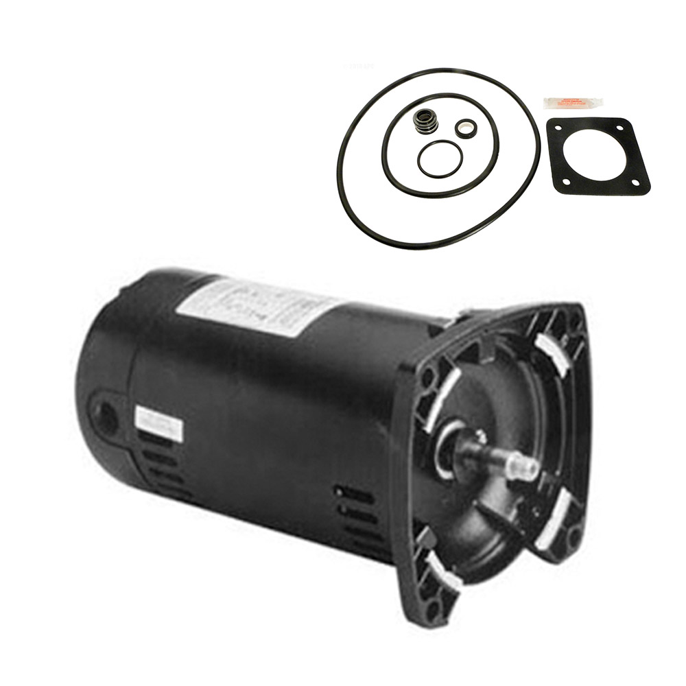 Sta rite dura glas 75hp p2ra5d 180l replacement motor kit for Ao smith pump motors