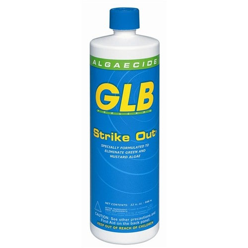 Glb strike out swimming pool copper algaecide Swimming pool algae treatment