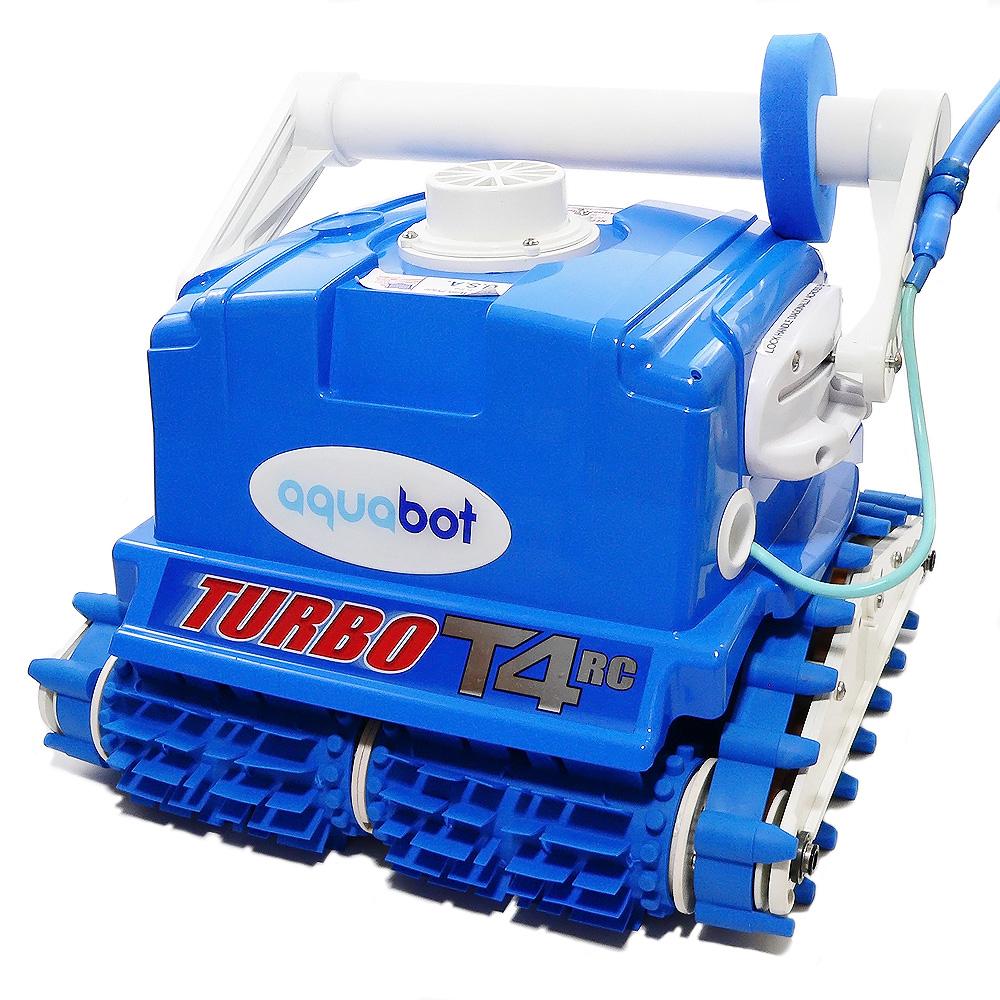 Aquabot Turbo T4 Rc Automatic Swimming Pool Cleaner
