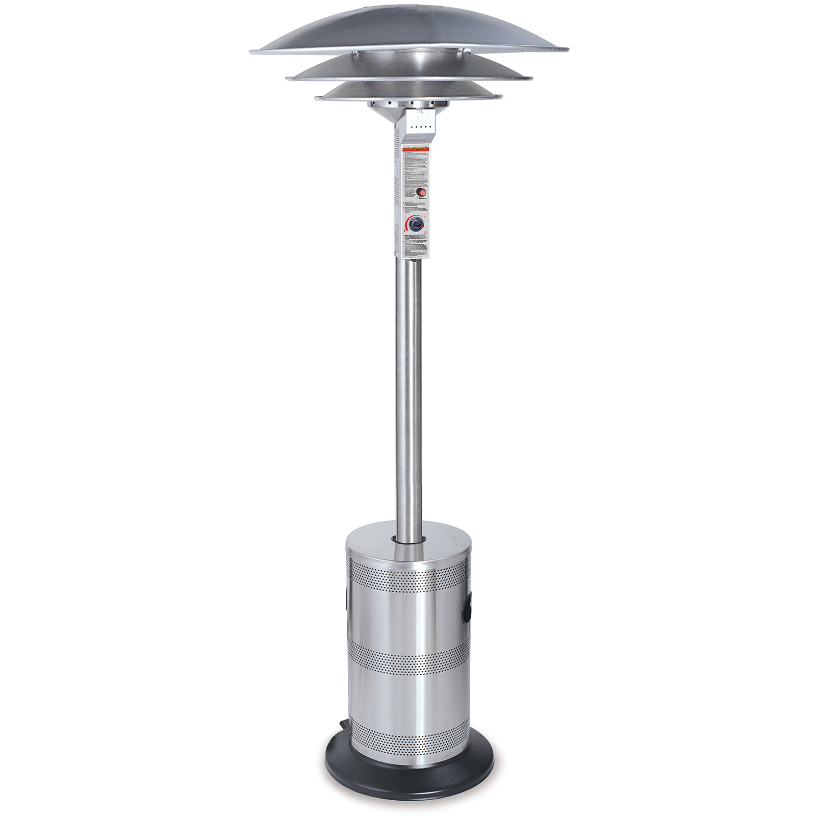 Endless Summer Patio Heater Triple Dome Stainless Steel