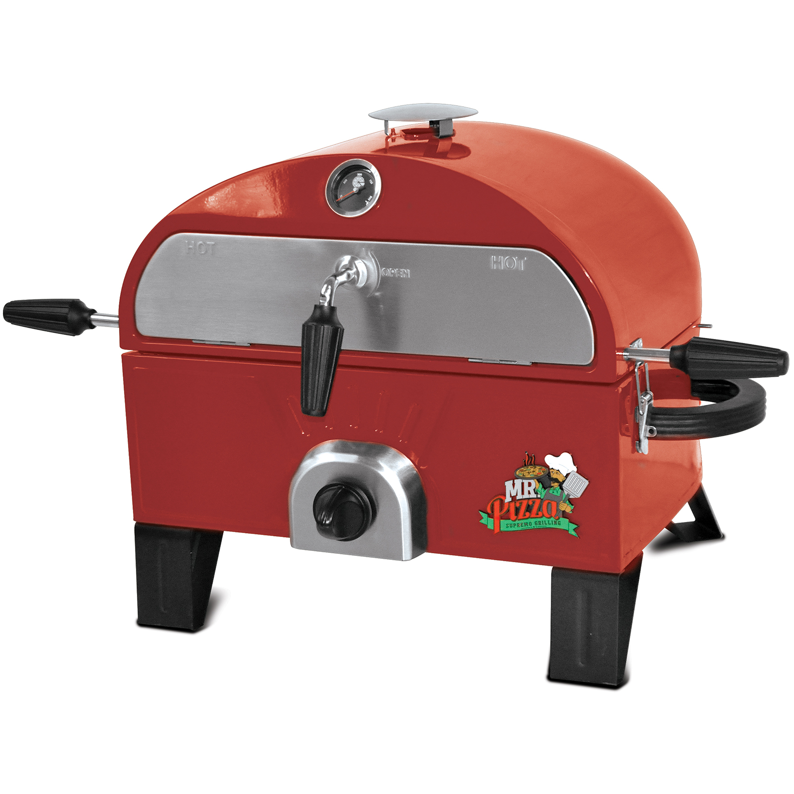 how to make pizza on a gas grill