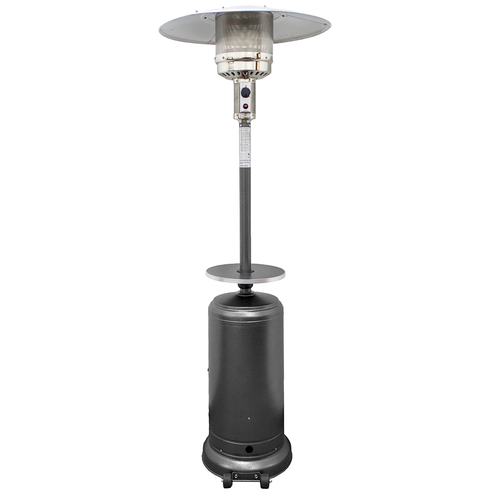 Az Patio Heaters Outdoor Patio Heater In Hammered Silver
