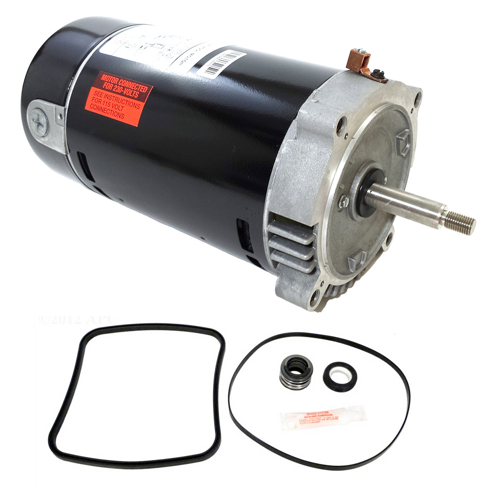Hayward Super Pump 1 5 Hp Sp2610x15 Replacement Motor Kit Ao Smith Ust1152 W Go Kit 3