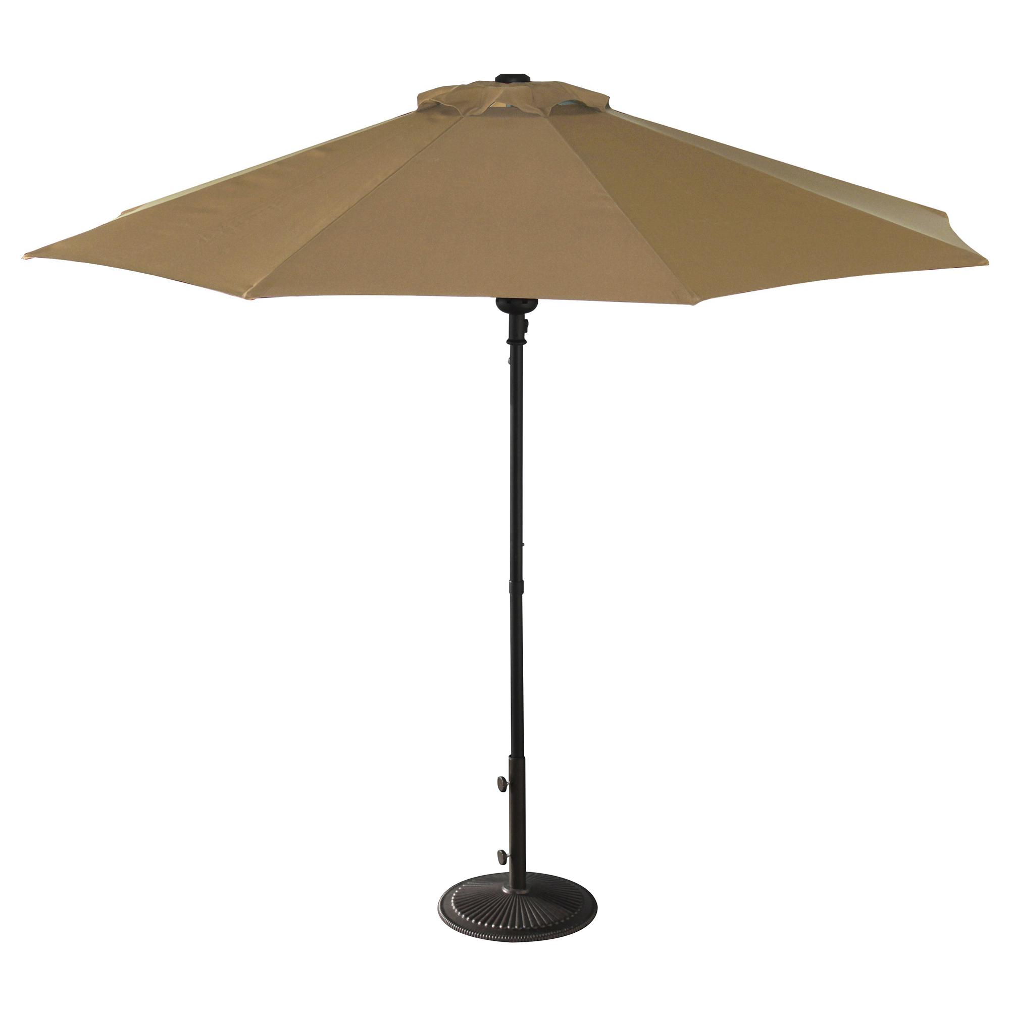 Patio Umbrella Alternative: Island Umbrella Cabo Auto-Open 9-ft Octagonal Market