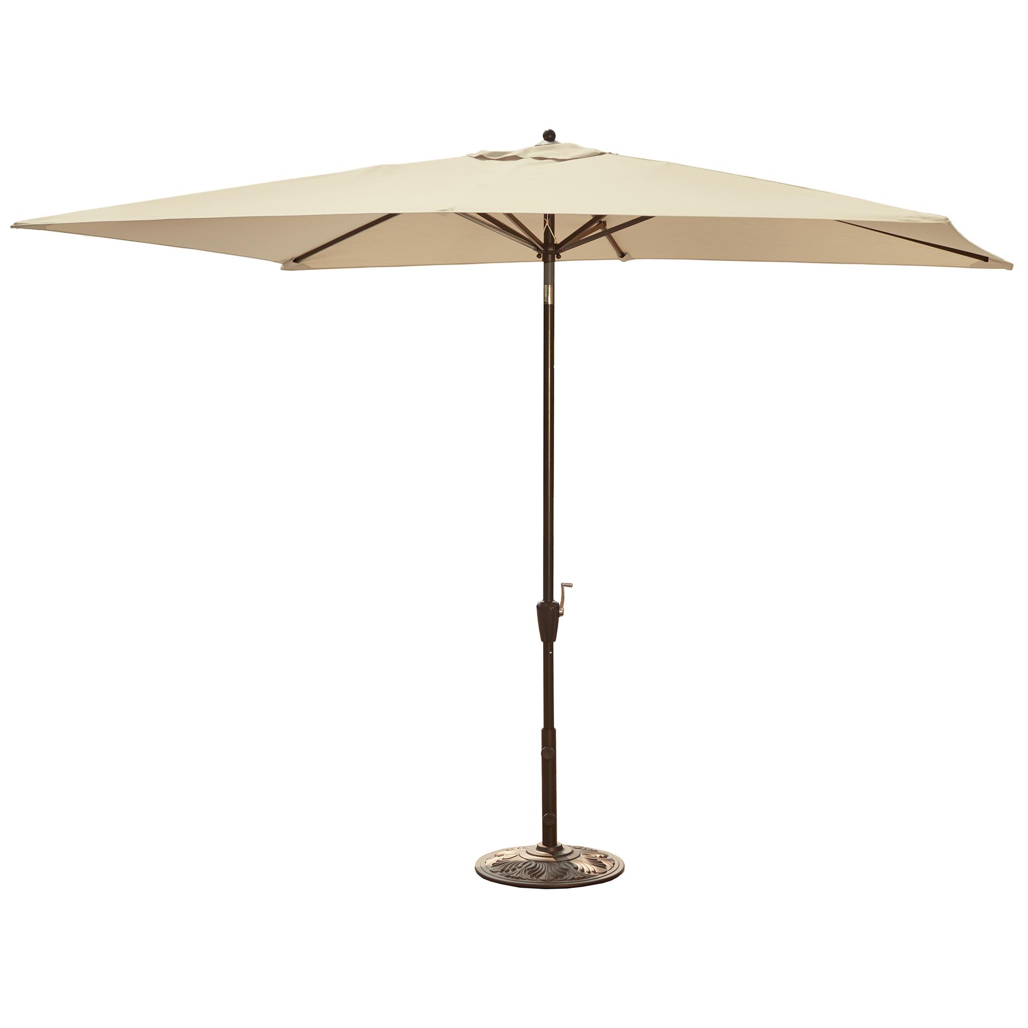 Island Umbrella Adriatic 6 5 Ft X 10 Ft Rectangular Market