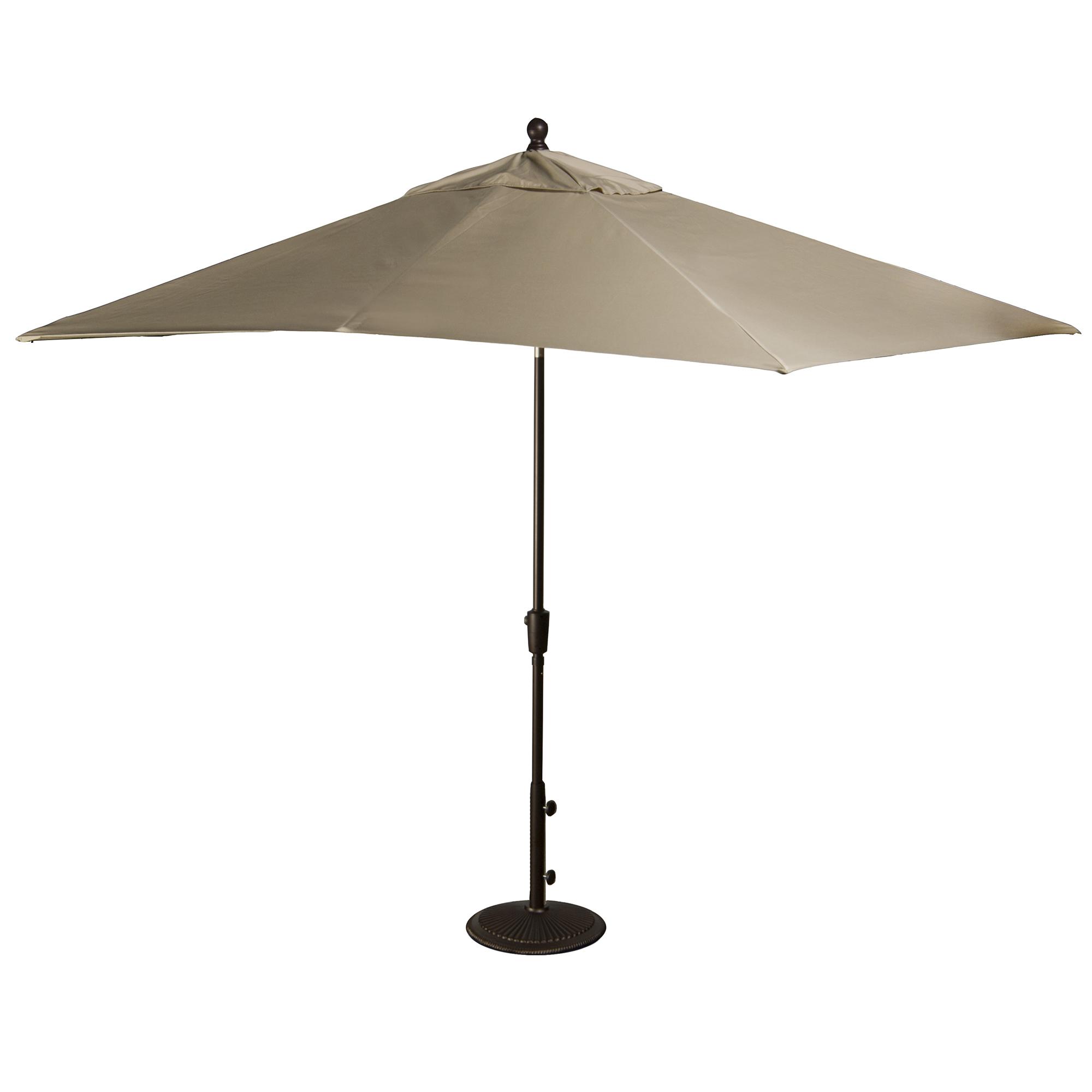 Patio Umbrella Alternative: Island Umbrella Caspian 8-ft X 10-ft Rectangular Market