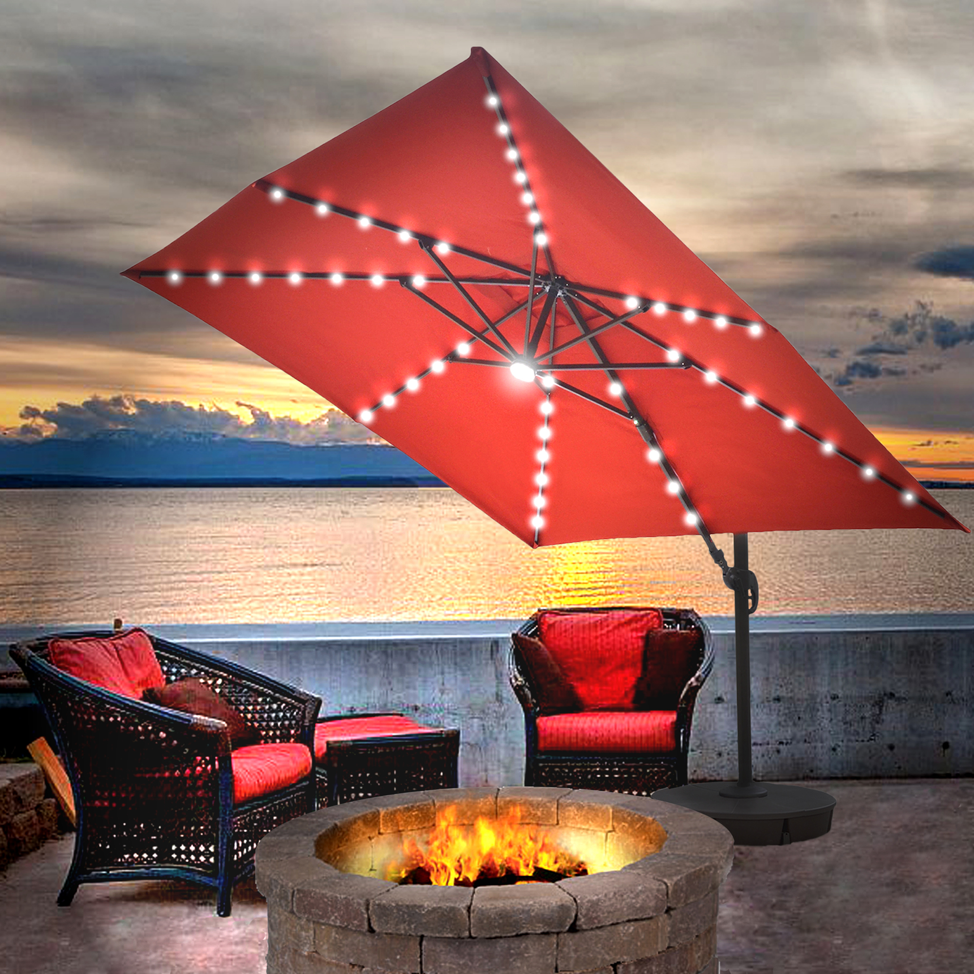 creative bed umbrellas home cantilever and bath most umbrella planning beyond in with patio design