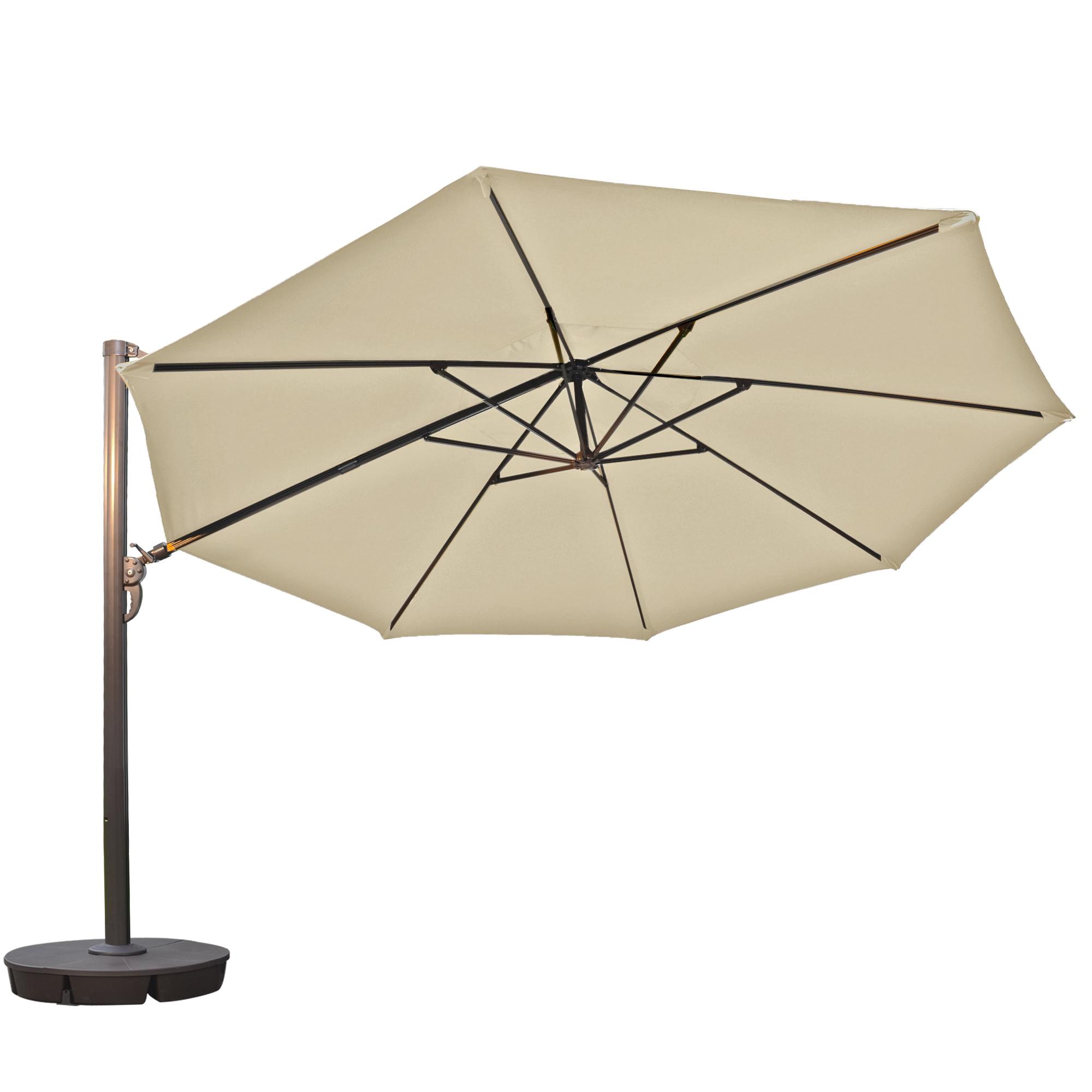 Island Umbrella Victoria 13ft Octagonal Cantilever Patio Umbrella