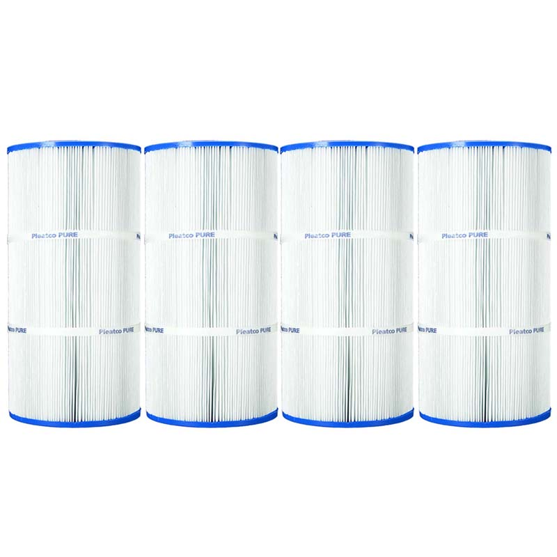Pleatco Cartridge Filter Pcc60 Pack Of 4 Pentair Clear