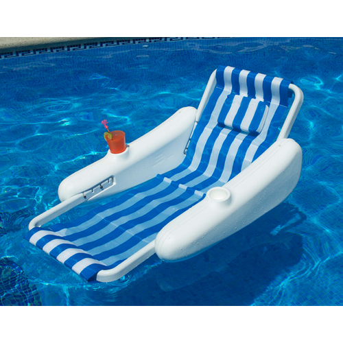 Sunchaser Sling Floating Swimming Pool Lounger With