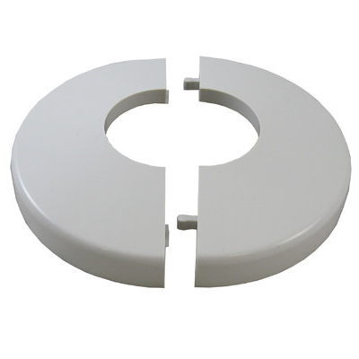 Escutcheon White Snap On Snap Tite Hand Rail Base Trim Cover