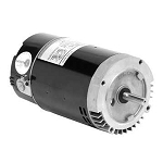 Emerson Replacement C-Face Motor .75HP Full-Rated Single-Speed