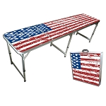 GoPong 8' Portable America Tailgate Table
