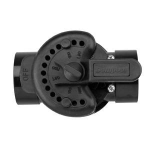 Pentair 3 Way Cpvc Solar Valve W Drain Down 2 2 5 Swimming Pool Supplies Parts And More