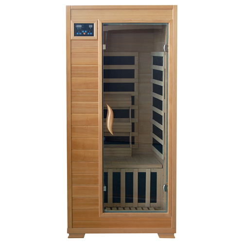 blue wave heatwave buena vista sauna 1 person ceramic heater hemlock. Black Bedroom Furniture Sets. Home Design Ideas