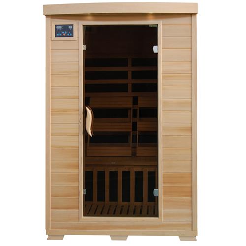 blue wave heatwave coronado sauna 2 person ceramic heater hemlock. Black Bedroom Furniture Sets. Home Design Ideas