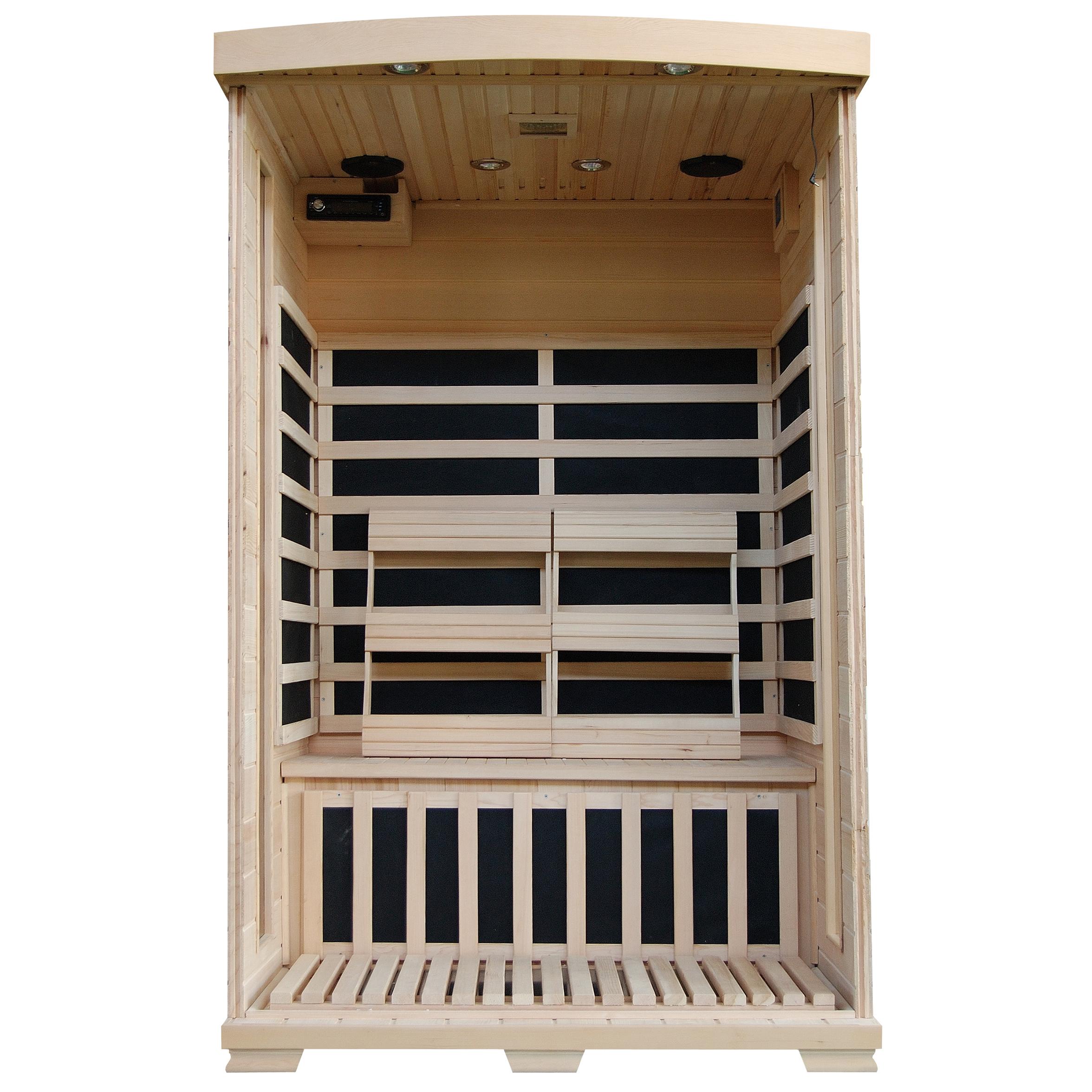 Blue Wave Heatwave Coronado Sauna 2 Person Ceramic Heater