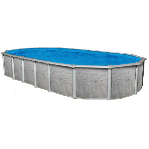 Sharkline heritage 18 39 x 33 39 oval x 54 above ground for Pool products