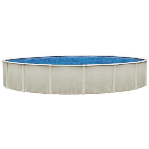 Sharkline reprieve 24 39 round x 48 above ground swimming pool for Above ground pool equipment