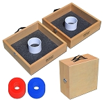 GoSports Washer Toss Set Birch Wood