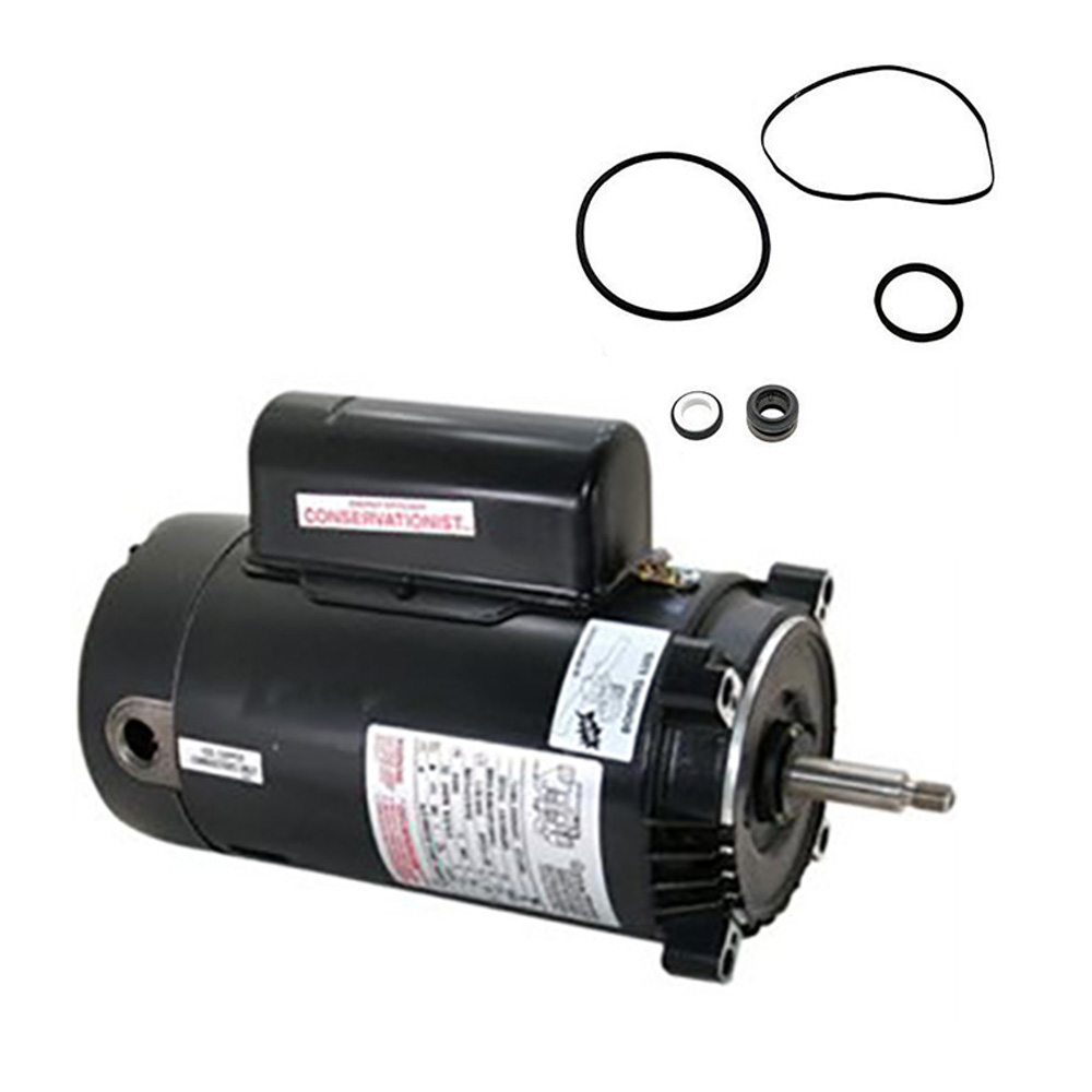 Hayward super ii 2 5hp sp3020x25az replacement motor kit for Ao smith 1 5 hp pool pump motor