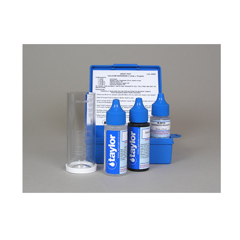 Taylor Technologies K 1770 Calcium Hardness Pool Spa Test Kit
