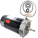 Hayward Max-Flo .75HP SP2800X7 Replacement Motor Kit AO Smith UST1072 w/ GO-KIT-1