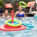 Texas Recreation Floating Super Soft Foam Ring Toss Game for Swimming Pools