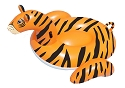 Swimline Safari Series Tiger Inflatable Pool Float