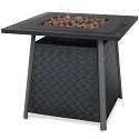 Endless Summer Outdoor Fire Table LP Gas with Steel Mantel