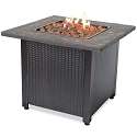 Endless Summer Outdoor Fire Table LP Gas with Resin Mantel