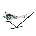 Island Umbrella Island Retreat 15-ft Hammock Set - Blue Cover