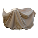 Island Umbrella All-Weather Protective Cover for 48-in Round Table & Chairs w/ Umbrella Hole