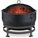 Endless Summer Outdoor Firebowl Oil Rubbed Bronze with Kettle Design