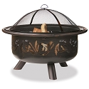 Endless Summer Outdoor Firebowl Oil Rubbed Bronze with Swirl Design