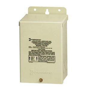 Intermatic PX100 Transformer 100 Watt Beige Steel Enclosure