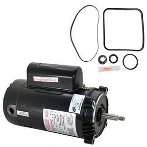 Hayward super pump 2 5 hp sp2621x25 replacement motor kit for Hayward super pump replacement motor 1 hp