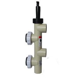 Pentair 2'' PVC Push Pull Valve 7.5'' Center (No Bulkhead Fittings)