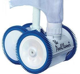 Poolvergnuegen 4 Wheel Pressure Cleaner PVN037