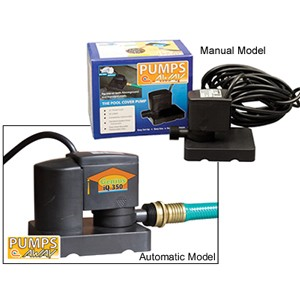 Above-Ground Winter Cover Pump w/AUTO - 350 GPH