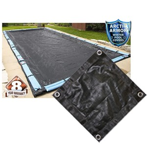 Arctic Armor 16' x 36' Rect Mesh Winter Cover (8yr Wty)