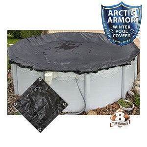 Arctic Armor 18' x 34' Oval Mesh Winter Cover (8yr Wty)