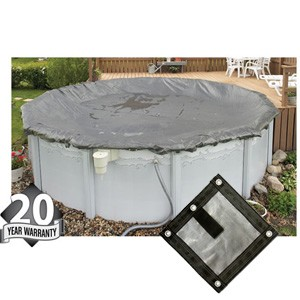 Arctic Armor Gorilla 16' x 32' Oval Solid Winter Cover (20yr Wty)