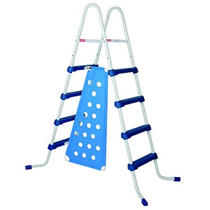 52-in. A-Frame Ladder with Barrier