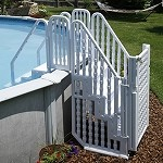 Blue Wave Complete Stair Entry System with Gate